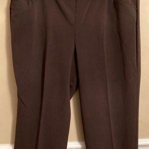 Roz & Ali woman's brown pants